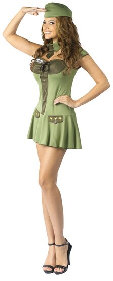 Major Trouble Sexy Army Costume