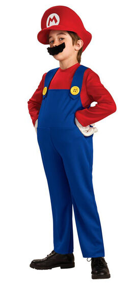 Kids Deluxe Super Mario Costume