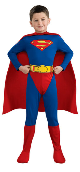 Superman Comics Deluxe Kids Costume