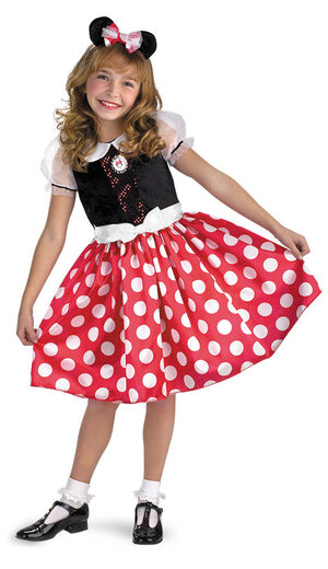 Disney Minnie Mouse Quality Kids Costume