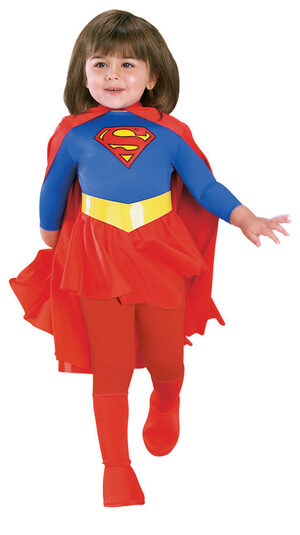 Supergirl Deluxe Kids Costume