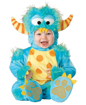 Toddler Lil Monster Baby Costume