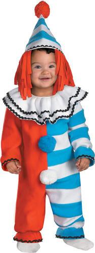 Classic Clown Baby Costume