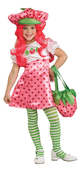 Strawberry Shortcake Deluxe Toddler Costume