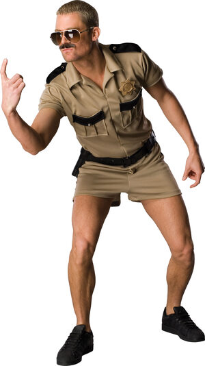 Reno 911 Lt. Dangle Adult Police Costume