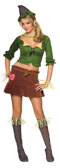 Sexy Wizard Of Oz Scarecrow Costume