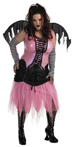 Graveyard Fairy Plus Size Costume