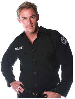 Mens Official Police Costume