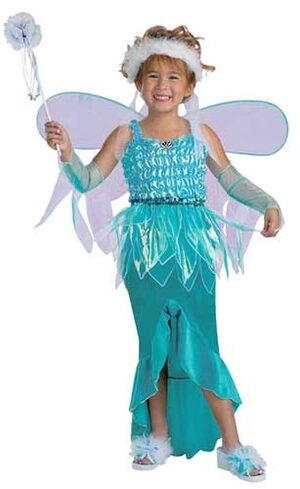 Mermaid Fairy Kids Costume