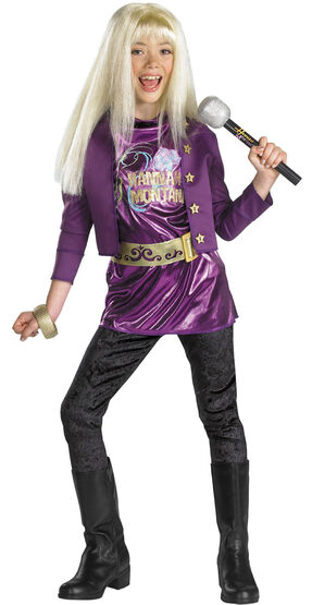 Hannah Montana Purple Kids Costume