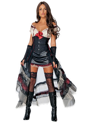 Jonah Hex Sexy Lilah Costume