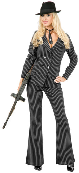 Gangster Moll Suit Adult Costume