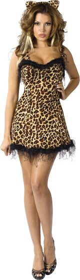 Womens Jungle Kitty Sexy Cougar Costume