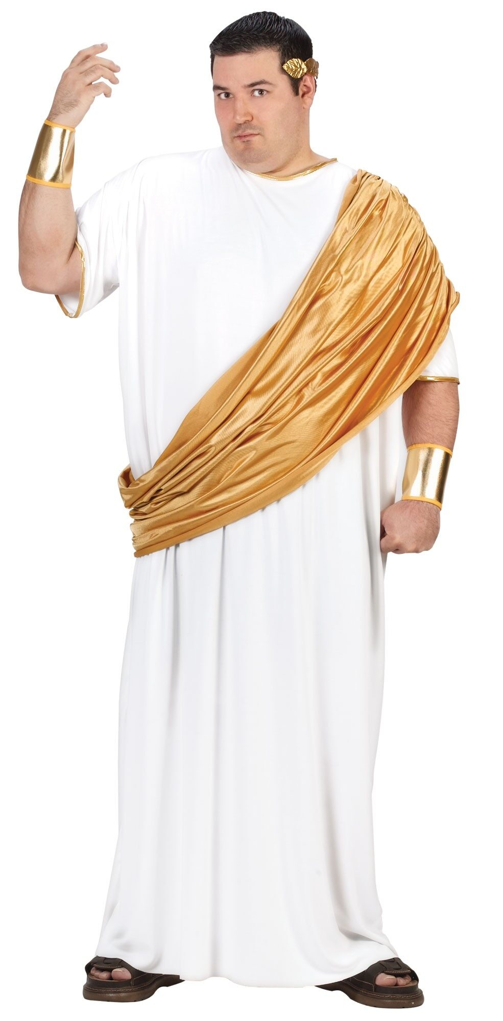 Mens Hail Caesar Plus Size Roman Costume  sc 1 st  Mr. Costumes & Mens Hail Caesar Plus Size Roman Costume - Mr. Costumes