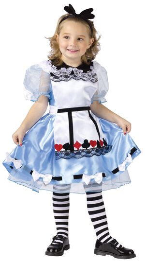 Kids Alice in Wonderland Toddler Costume
