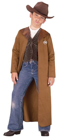Kids Old West Sheriff Cowboy Costume