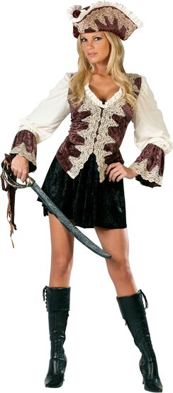 Adult Royal Lady Pirate Costume