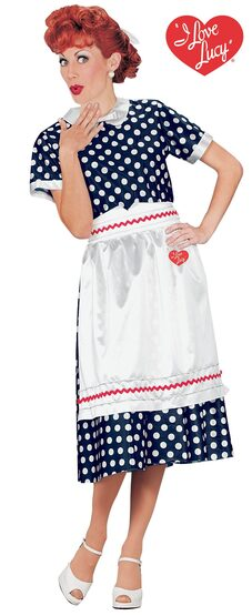 I Love Lucy 50s Adult Costume