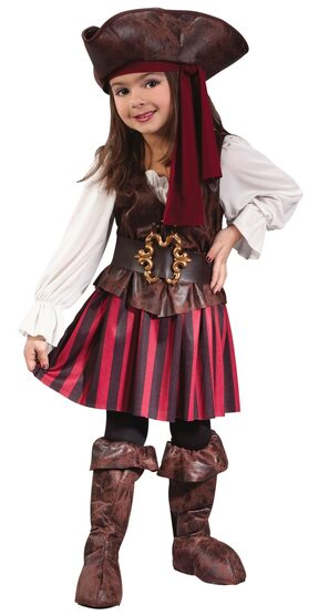 Kids High Seas Toddler Pirate Costume