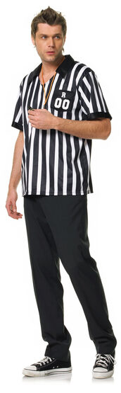Mens Adult Referee Costume