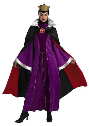 Adult Prestige Evil Queen with Crown Disney Costume