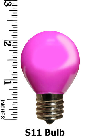 S11 Purple Opaque Replacement Bulbs
