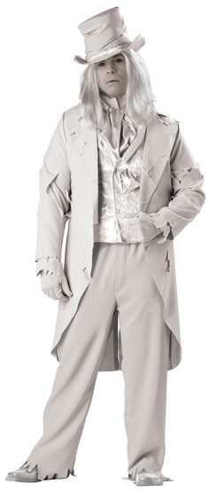 Ghostly Gent Plus Size Costume