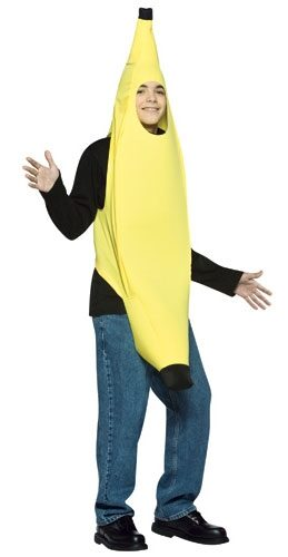 Lightweight Banana Teen Costume