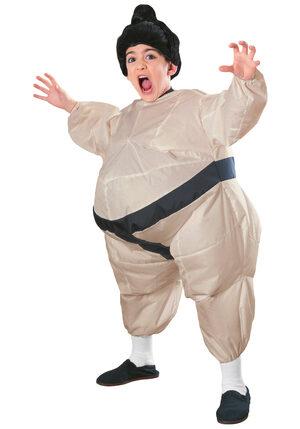 Inflatable Sumo Wrestler Kids Costume