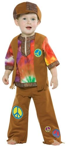 Hippie Boy Toddler Costume