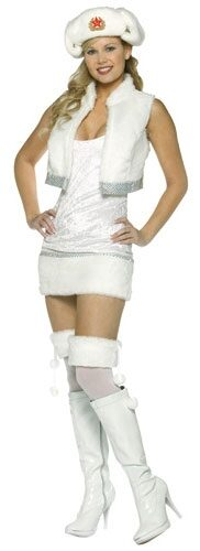 White Russian Sexy Costume