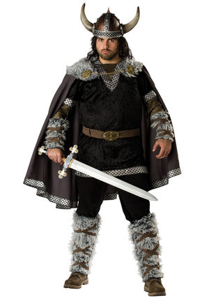 Viking Warrior Plus Size Costume