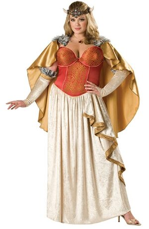 Viking Princess Plus Size Costume