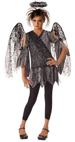 Fallen Angel Gothic Kids Costume