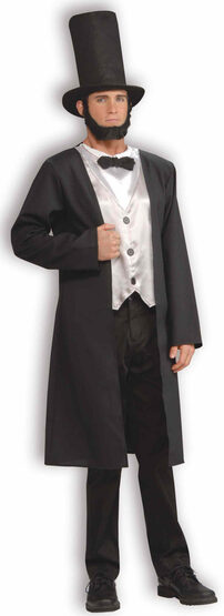Honest Abe Lincoln Historical Adult Costume