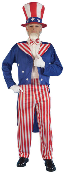 I Want You Uncle Sam Patriotic Adult Costume