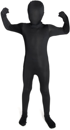 Black Morphsuit Kids Costume