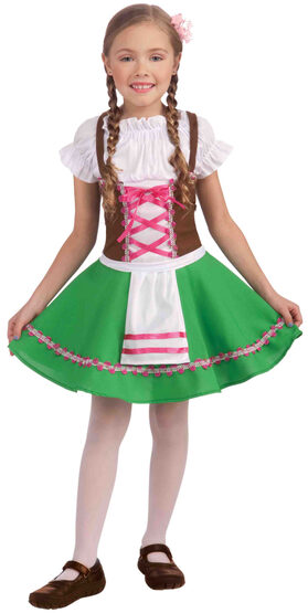 Girls Gretel Storybook Kids Costume