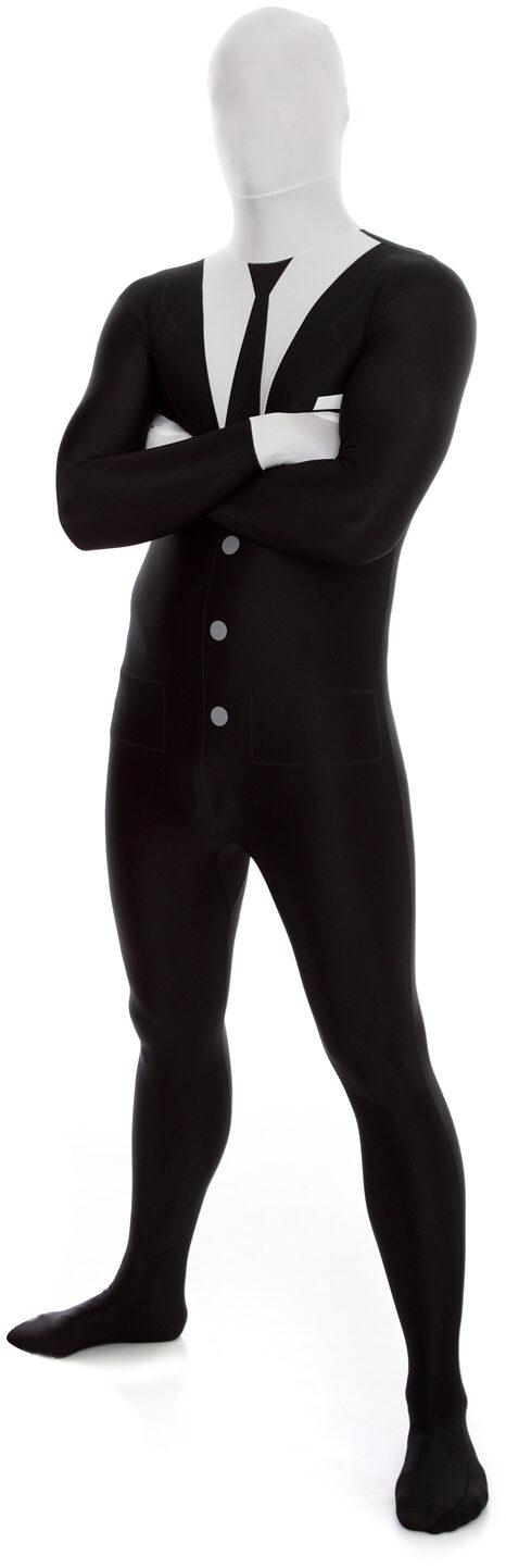 Slender Man Morphsuit Adult Costume  sc 1 st  Mr. Costumes & Slender Man Morphsuit Adult Costume - Mr. Costumes