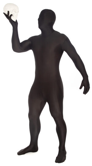 Black Morphsuit Adult Costume