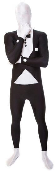 Tuxedo Morphsuit Adult Costume