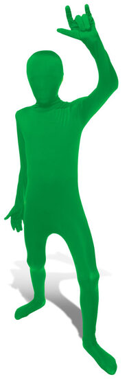 Green Morphsuit Kids Costume
