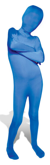 Blue Morphsuit Kids Costume