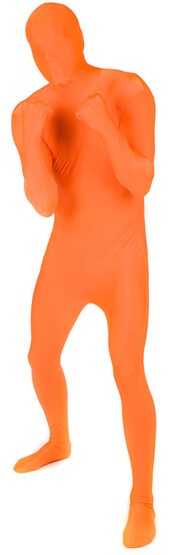 Orange Morphsuit Adult Costume