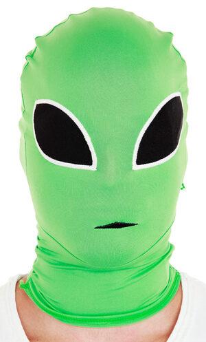 Green Alien Morph Mask