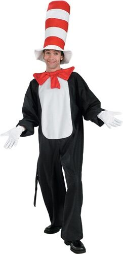 Dr. Suess The Cat in the Hat Adult Costume