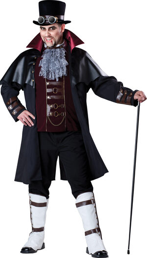 Steampunk Vampire Plus Size Costume