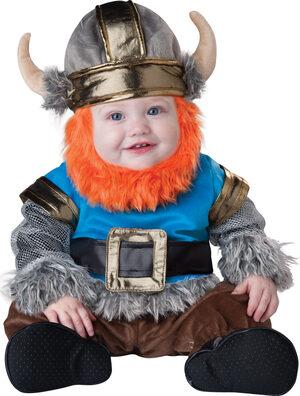 Lil' Viking Baby Costume
