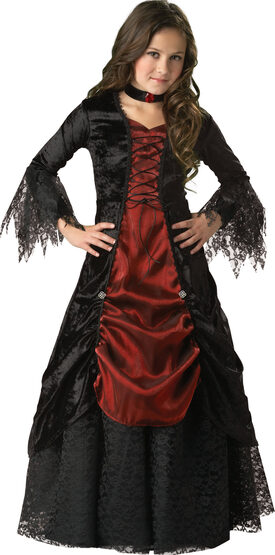 Dark Darling Vampiress Kids Costume