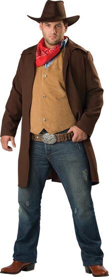 Rawhide Renegade Cowboy Plus Size Costume